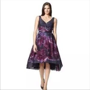 NWT Lela Rose Neiman Marcus Watercolor Dress
